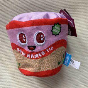 Bark Box Ramen-Tic Dog Toy Sz Medium Dog Squeaker